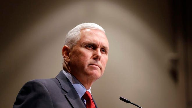 Indiana Gov. Mike Pence has scrapped a state-funded news organization called JustIn.