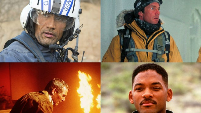 'San Andreas,' 'The Day After Tomorrow,' 'The Towering Inferno' and 'Independence Day.