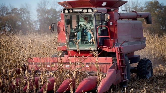 Farming in Iowa
