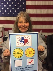 Rhonda Dent, a school bus driver who lives in Ingleside, agrees that daylight saving time is dangerous. She said she worries during and after the transition that motorists will hit children in the dimmer light.