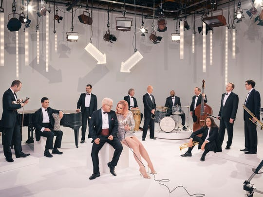 Pink Martini with lead singer Storm Large.