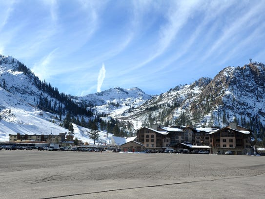 In 2011: The Village at Squaw Valley as it appeared