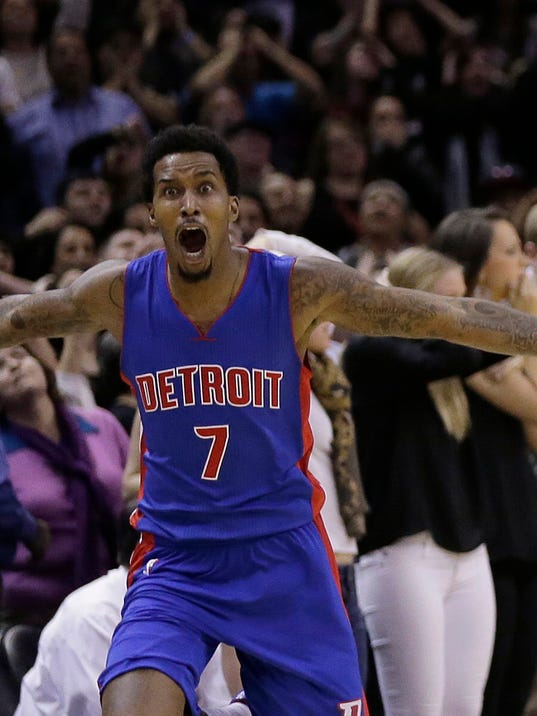 Pistons' Brandon Jennings thankful for chance, delivers vs ...