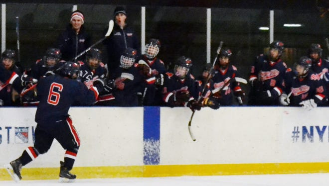 Byram Hills is looking to celebrate the first league title in program history.