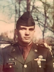 David Johnson in 1966 right after returning from three years in the army.