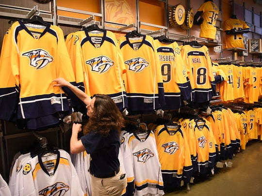 And the top-selling Nashville Predators jersey is... e90c20955
