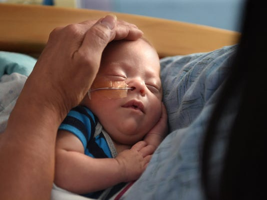 How do they help sick babies get well? With lots and lots of cuddling