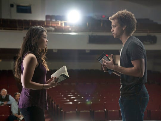 Auli'i Cravalho as Lilette Suarez, Damon J. Gillespie as Robbie Thorne in 'Rise.'