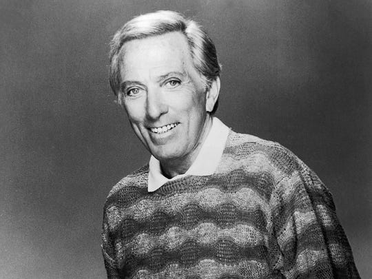 Performer Andy Williams died Tuesday night, Sept. 25, 2012, at his home in Branson, Mo., the public relations firm The Shefrin Company said. He was 84. A statement from the company said he died following a year-long battle with bladder cancer. In November 2011, Williams told the audience at his Christmas show that he had cancer.