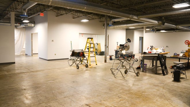 The Generator maker space is due to move into this new location at 40 Sears Lane on Jan. 2.