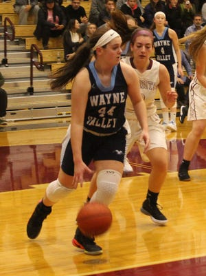 Sophomore Briana Neary scored 15 points for Wayne Valley against Cresskill.