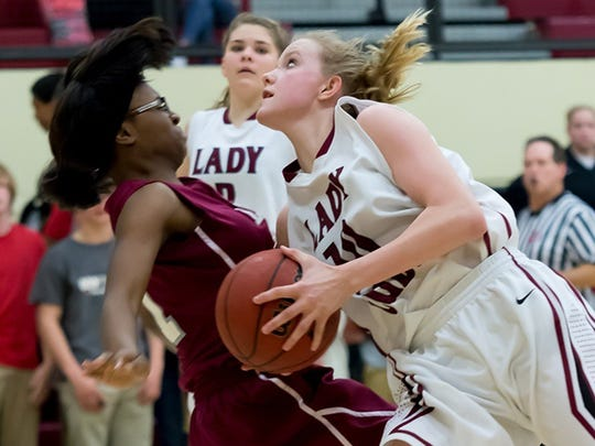 Cheatham County's Abbi Douglas in a recent game for the Lady Cubs.