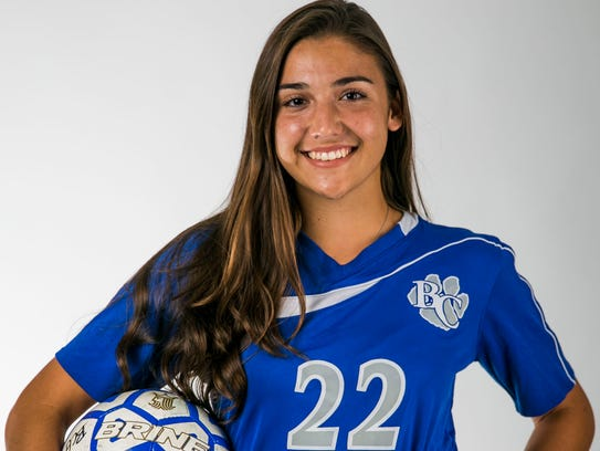 Sierra Rincon in the Naples Daily News studio on Wednesday,