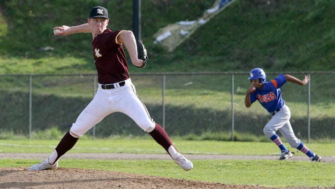 South Kitsap pitcher Garrison Glisson and the Wolves take on Jackson in the first round of the Class 4A state baseball tournament Saturday at Everett Memorial Stadium.