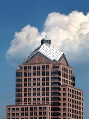 The former Bausch & Lomb building in downtown Rochester will be the headquarters for the $600 million photonics center.
