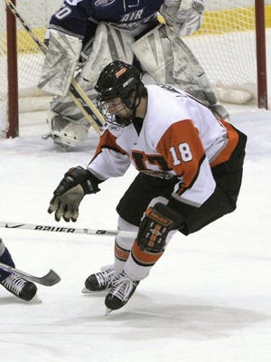 Simon Lambert enjoyed a terrific career at RIT, and it would have been just a touch better had he been able to score on a breakaway late in the Tigers' game at Bowling Green in 2006.
