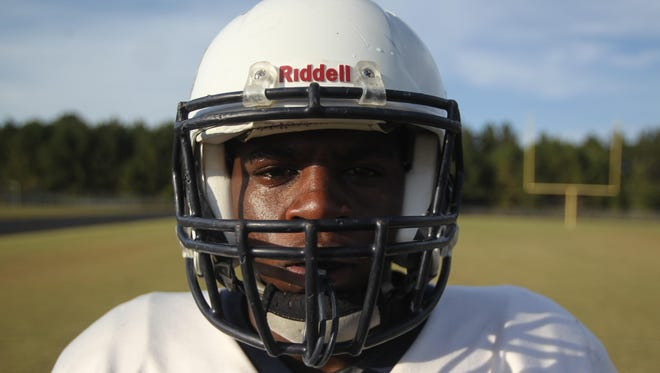 East Gadsden sophomore running back Tony Street has racked up 1,920 yards and 22 touchdowns this regular season for the Jaguars (5-4).