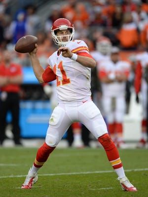 Alex Smith has thrown 253 consecutive passes without an interception for the Chiefs.