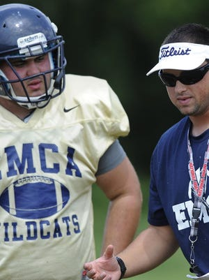 Coach Brad Porter and East Memorial will move to 8-man football.
