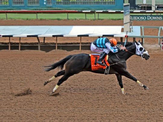 The No. 2 ranked horse, Rainbow Derby winner Valiant