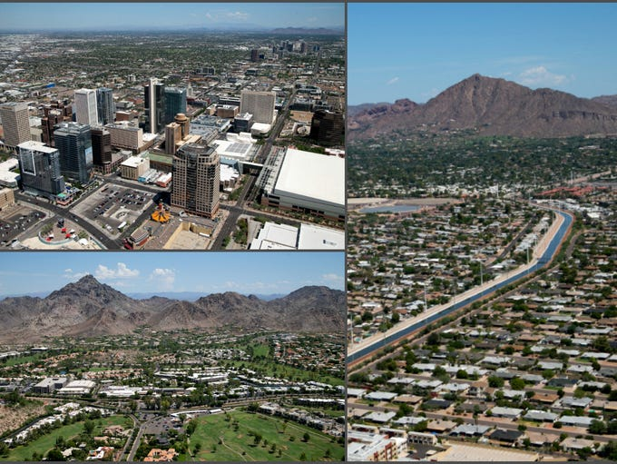 The residential building boom continues in Phoenix,