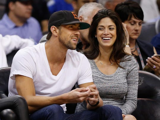 FILE: Michael Phelps Reportedly Married Nicole Johnson In June