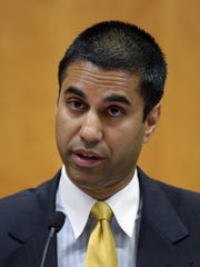 FCC Commissioner Ajit Pai on Aug. 9, 2013 file during