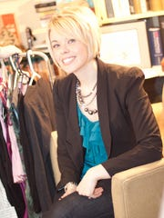 Local stylist and thirty-something Kim Krzanowski hunts for fashion bargains.