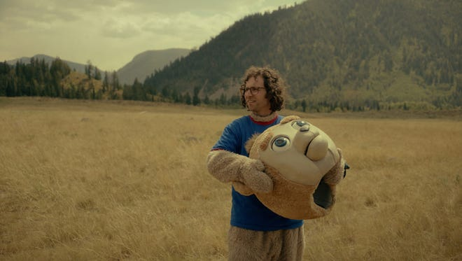 """As an adult, James Pope (Kyle Mooney) still seeks comfort in the """"Brigsby Bear"""" children's show. It's weird, but affecting."""