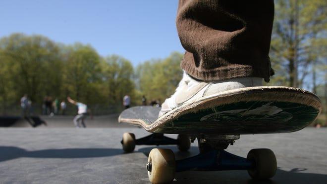 Skateboard file photo, 2010