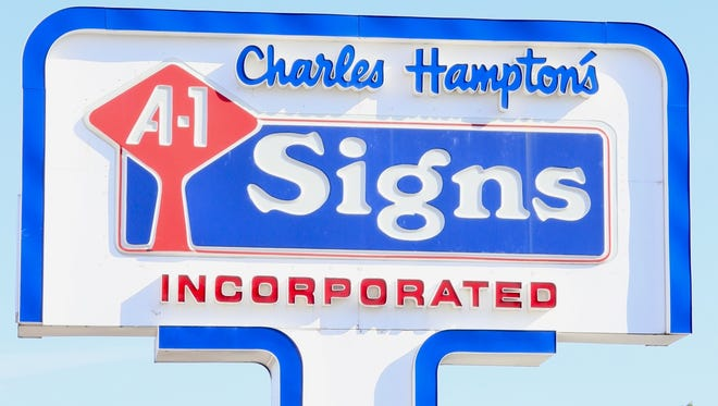 Charles Hampton's A-1 Signs in Burns.