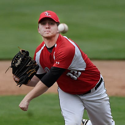 Mitch Long tossed a 98-pitch shutout in the Annville-Cleona