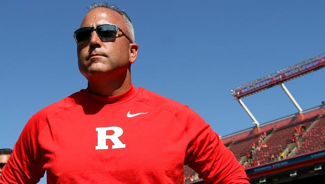 Former Rutgers coach Kyle Flood is making his return to college football today as a Sirius sports radio talk show host.