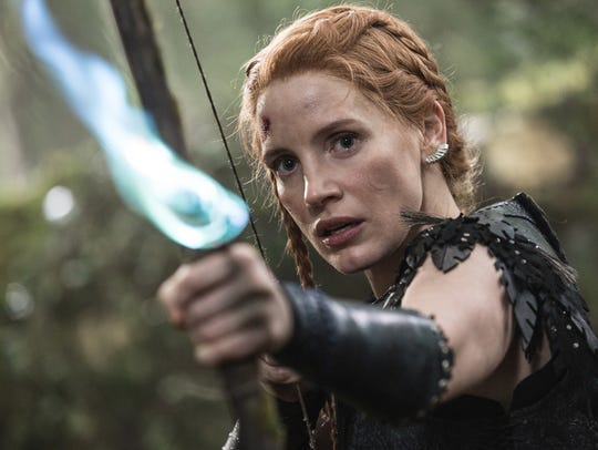 Jessica Chastain plays a warrior named Sara in 'The