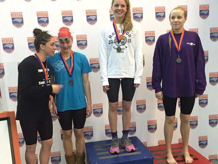 Roberson's Mary-O Soule is a defending NCHSAA 4-A champion.