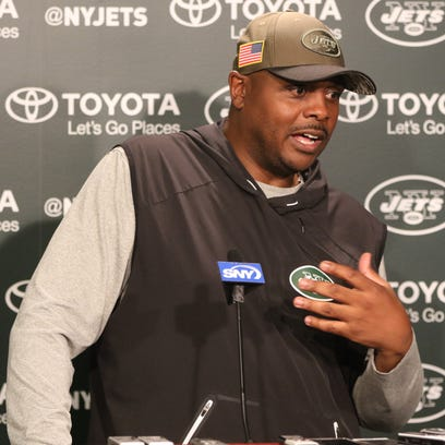 Jets Defensive Coordinator, Kacy Rodgers , speaks to