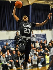 Lewis Scott of Ranney, soars to the basket against