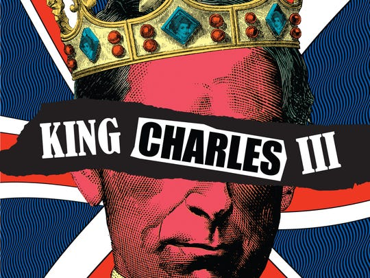 "Poster art for Arizona Theatre Company's ""King Charles"