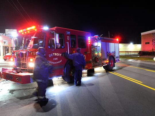 """Detroit's fire administration this month issued a written """"Bodily Fluid Aftermath Cleanup"""" policy that says fire personnel involved with medical response must ensure cleanup of blood and other bodily fluids at any and all accident scenes,medical first responder runs, and other incidents, as requested by police."""