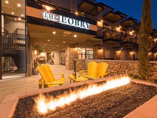 The Tavern Hotel is in Old Town Cottonwood. Shops,