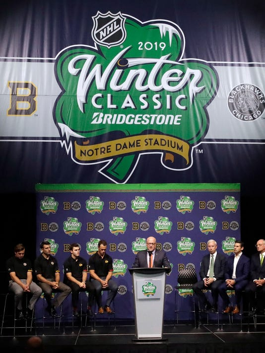 NHL Winter Classic 2019  Blackhawks-Bruins at Notre Dame Stadium info 5c6a9cd30