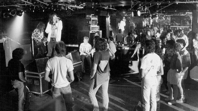 "Idols was a ""showcase club"" with professional sound and lighting systems and technicians. Pictured in August 1987."
