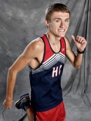 All-Midstate cross country Titus Winders, Henry CountyFriday