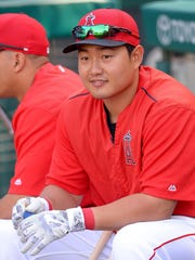 If Ji-Man Choi makes the Brewers' roster, he probably