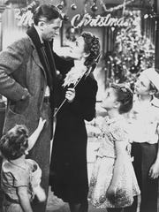 "A movie scene from the 1946 film ""It's a Wonderful Life"" starring James Stewart. The Henegar Center for the Arts will present it's version titled ""A Wonderful Life"" from December 5 to 21."