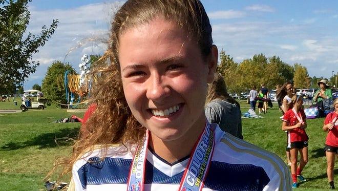 Kenady Adams is the Coloradoan's Female Athlete of the Week.