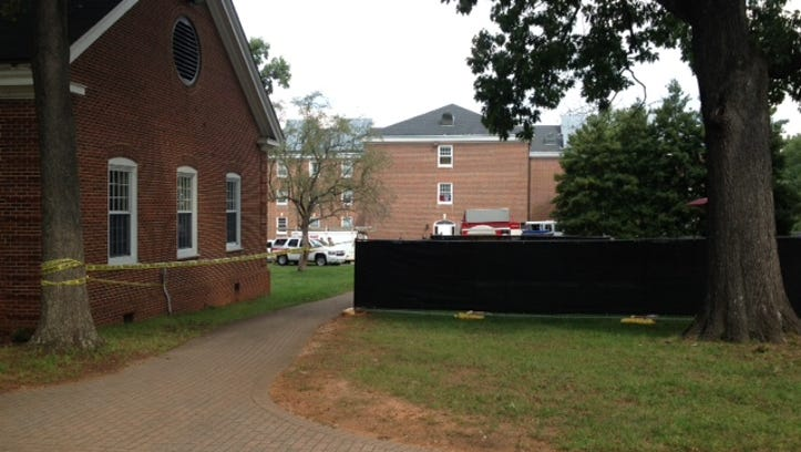Fire reported at Mary Hobbs Hall on campus of Guilford College in Greensboro