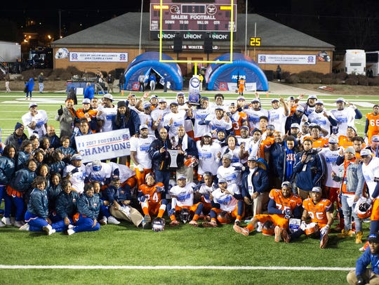 Virginia State won the CIAA title game over Fayetteville