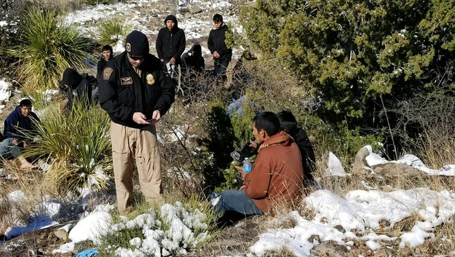 U.S. Customs and Border Protection officers rescued 14 migrants suffering from hypothermia in a desert area near Marfa.