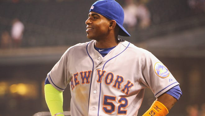 The New York Mets are 14-6 since trading for outfielder Yoenis Cespedes.